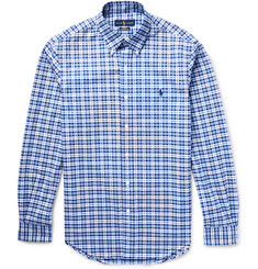 Polo Ralph Lauren - Slim-Fit Checked Stretch-Cotton Oxford Shirt