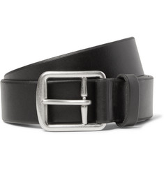 Polo Ralph Lauren - 3.5cm Black Leather Belt