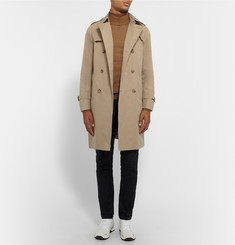 Mackintosh Slim-Fit Cotton Trench Coat