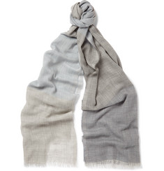 Begg & Co - Wispy Brighton Checked Cashmere Scarf