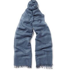 Begg & Co - Staffa Cashmere and Silk-Blend Scarf