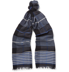 Begg & Co - Fiji Marchardy Striped Woven Scarf