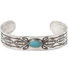 Peyote Bird - Joe Eby Sterling Silver Turquoise Cuff