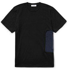 Tim Coppens Shell-Panelled Cotton-Jersey T-Shirt