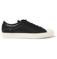Common Projects Achilles Retro Textured-Leather Sneakers