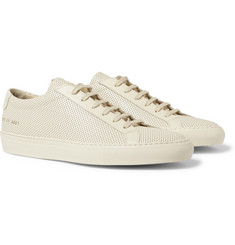 Common Projects - Original Achilles Perforated Leather Sneakers