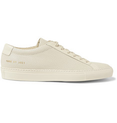 Common Projects Original Achilles Perforated Leather Sneakers