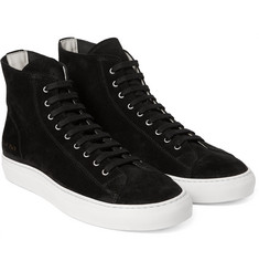 Common Projects - Tournament Suede High-Top Sneakers
