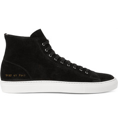 Common Projects Tournament Suede High-Top Sneakers