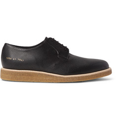 Common Projects Perforated Leather Derby Shoes