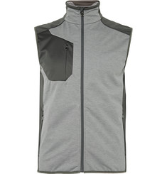 RLX Ralph Lauren Panelled Jersey and Shell Gilet