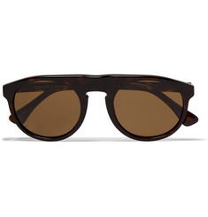 Dries Van Noten Round-Frame Tortoiseshell Acetate Sunglasses
