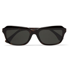 Dries Van Noten Square-Frame Tortoiseshell Acetate Sunglasses