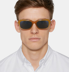 Dries Van Noten - Square-Frame Acetate Sunglasses