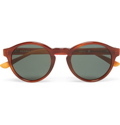 Orlebar Brown Round-Frame Acetate Sunglasses
