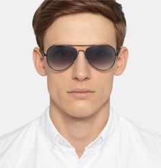 Orlebar Brown - Aviator-Style Metal Sunglasses
