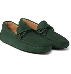 Tod's - Gommino Nubuck Driving Shoes