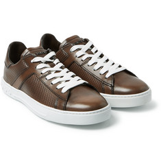 Tod's - Polished-Leather Sneakers
