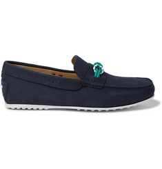 Tod's City Nubuck Driving Shoes