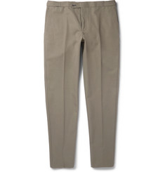 Thom Sweeney Brook Slim-Fit Cotton-Twill Chinos