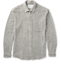 Our Legacy Slim-Fit Cotton-Terry Shirt