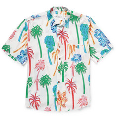 Our Legacy - Palm-Print Poplin Shirt