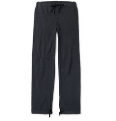 Our Legacy Wide-Leg Drawstring Cotton Trousers