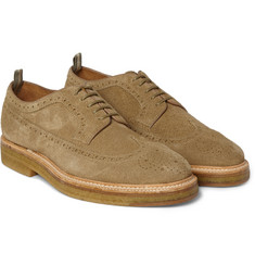 Officine Creative - Harvard Suede Wingtip Brogues