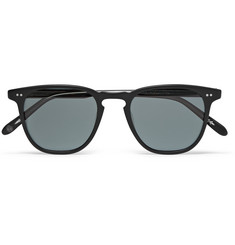 Garrett Leight California Optical Brooks Round-Frame Acetate Polarised Sunglasses