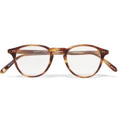 Garrett Leight California Optical Hampton Round-Frame Tortoiseshell Acetate Optical Glasses