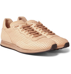 Officine Creative - Keino Perforated Leather Sneakers