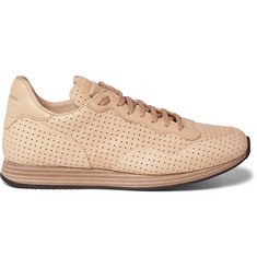 Officine Creative Keino Perforated Leather Sneakers