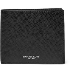 Michael Kors - Harrison Grained-Leather Billfold Wallet
