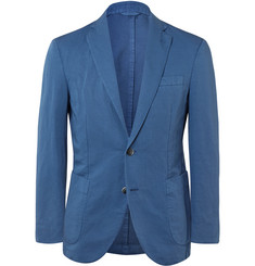 Hackett Slim-Fit Cotton and Linen-Blend Blazer