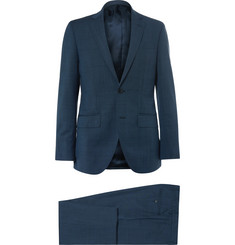 Hackett - Blue Slim-Fit Wool and Mohair-Blend Suit