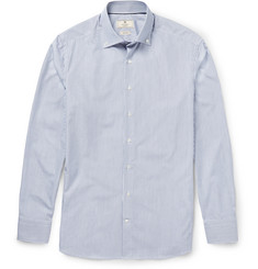 Hackett Slim-Fit Button-Down Collar Striped Cotton shirt