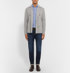 Hackett May Slim-Fit Gingham Cotton Shirt