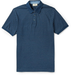 Hackett Slim-Fit Striped Cotton Polo Shirt