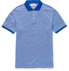 Hackett Slim-Fit Birdseye Cotton Polo Shirt