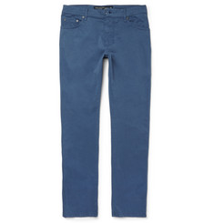 Hackett Trinity Slim-Fit Stretch-Cotton-Twill Trousers