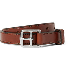 Yuketen - 2.5cm Brown Leather Belt
