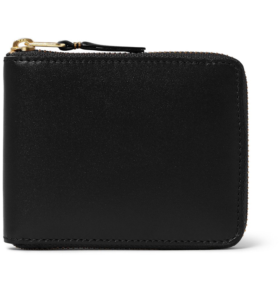 Comme des Garçons Zip-Around Leather Wallet
