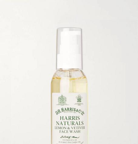 D R HARRIS Lemon And Vetiver Face Wash, 100Ml in White