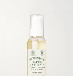 D R Harris Lemon and Vetiver Face Wash, 100ml