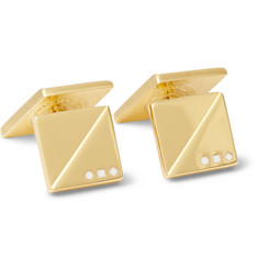 Alice Made This - Benedict & Arnold Gold-Plated Cufflinks