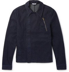 Tomas Maier - Zip-Up Stretch-Denim Jacket