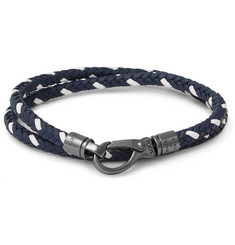 Tod's - Woven Leather Wrap Bracelet