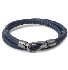 Tod's Leather Wrap Bracelet