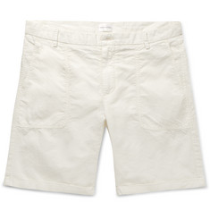 Gant Rugger - Cotton and Linen-Blend Canvas Shorts
