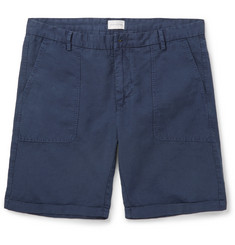 Gant Rugger Cotton and Linen-Blend Shorts